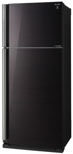 Холодильник Sharp SJ-XP59PGRD черный