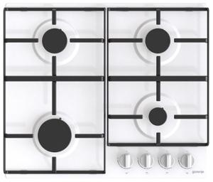 Газовая варочная панель Gorenje G640EW белый