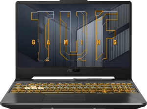 Ноутбук игровой Asus TUF F15 FX506HC-HN002T (90NR0723-M00820) серый