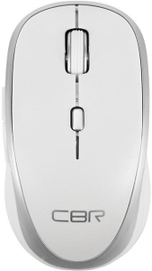 Мышь беспроводная CBR CM 551R белый