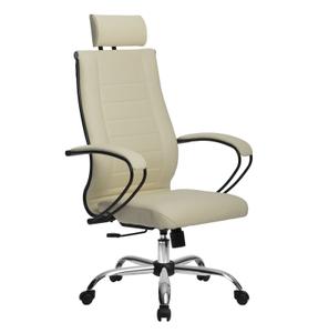Кресло для руководителя Метта Комплект 32 (БЕЗ ОСНОВАНИЯ) бежевый