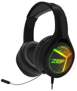 Проводная гарнитура Qcyber ZEF RGB черный