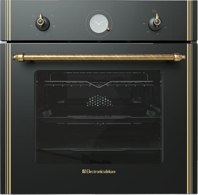 Духовой шкаф Electronicsdeluxe 6006.05эшв-010 черный