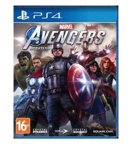 Игра на PS4 Мстители Marvel [PS4, русская версия]
