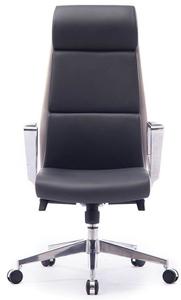 Кресло офисное Norden Лондон ЛЮКС серый