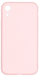 Клип-кейс Alwio для iPhone Xr, soft touch, светло-розовый (ASTIXRPK)