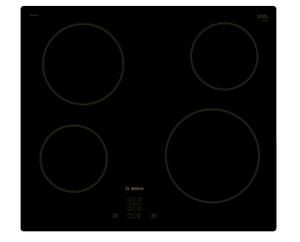 Электрическая варочная поверхность Bosch PKE611BA1R черный