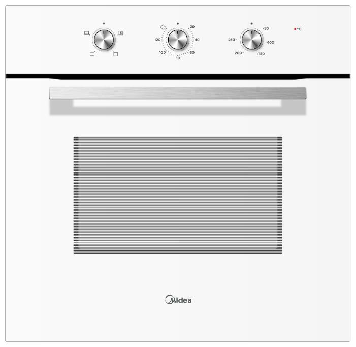 Духовой шкаф Midea MO23001GW белый