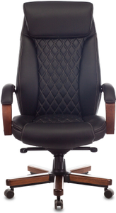 Кресло офисное Бюрократ T-9924WALNUT черный