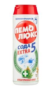 Порошок чистящий антибактериальный Пихта Эвкалип 480гр Пемолюкс