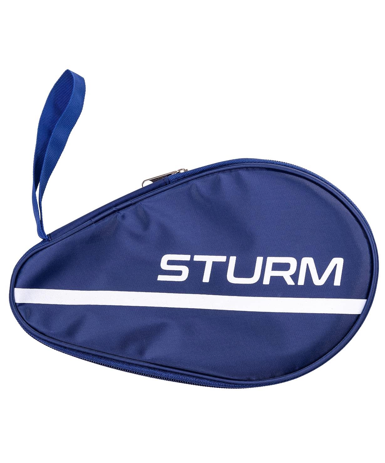 Чехол для ракетки для настольного тенниса CS-01, для одной ракетки, синий