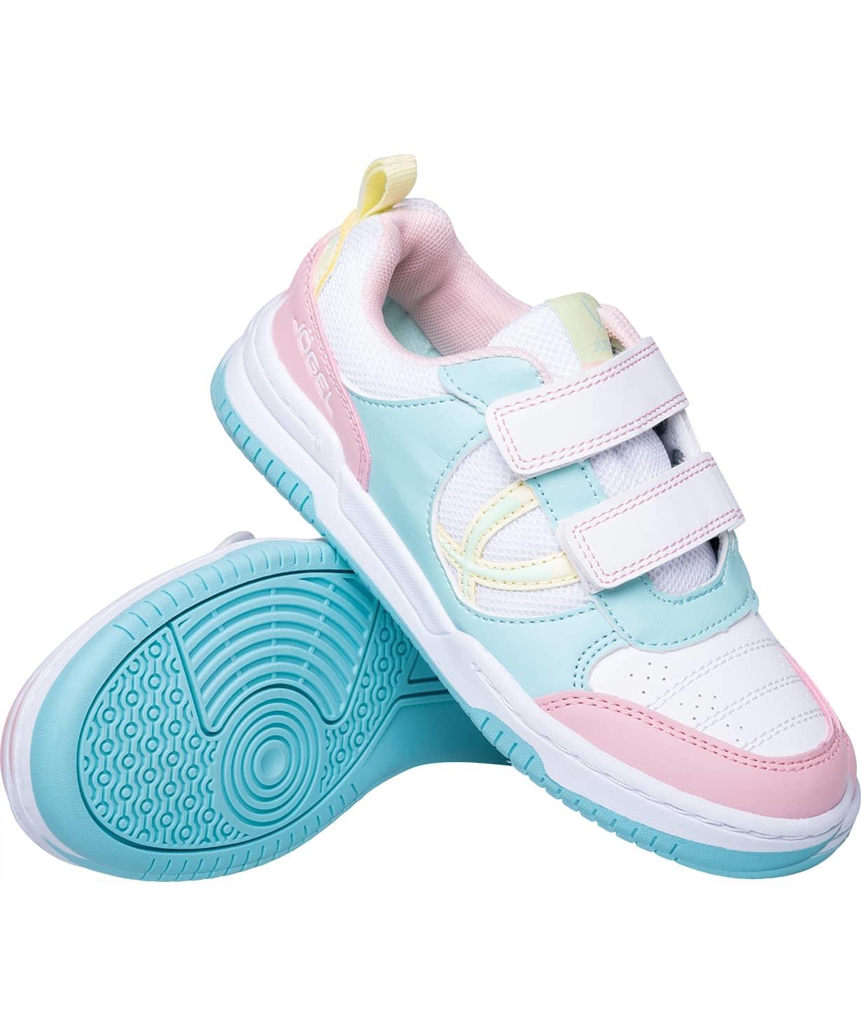 Обувь спортивная Salto JSH105-K, розовый/мятный/желтый, р. 28-35
