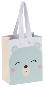 """Пакет подарочный 11*14*6,5см MESHU """"Little bear"""", матовая ламинация"""