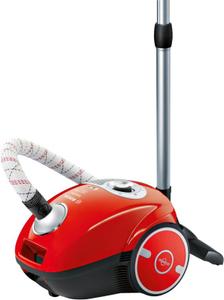Пылесос Bosch BGL35MOV25 красный