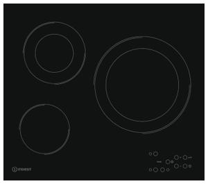 Электрическая варочная поверхность Indesit RI 360 C черный