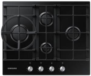 Газовая варочная панель Samsung NA64H3010BK/WT черный