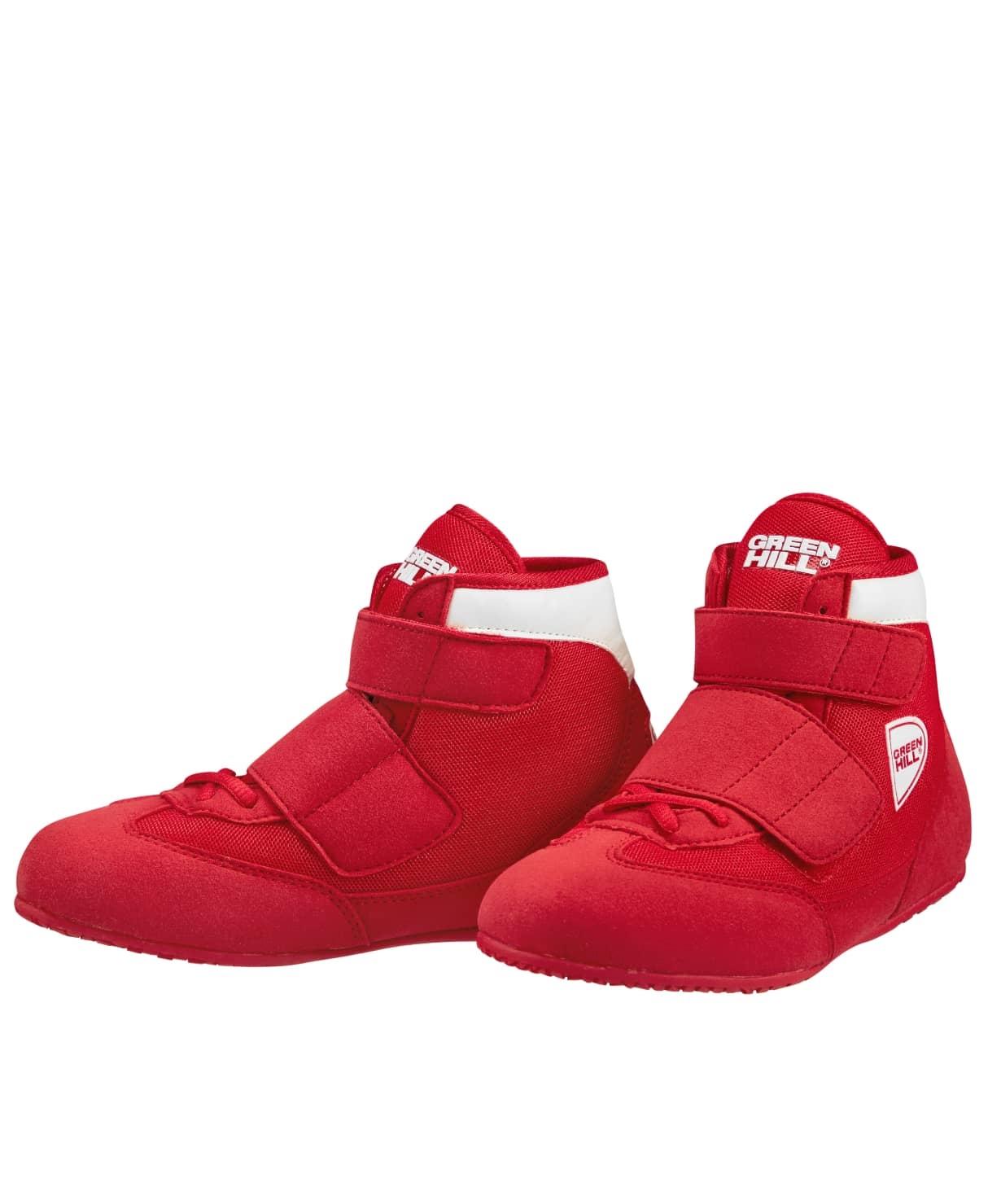 Обувь для борьбы SPARK WSS-3255, красный