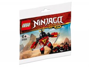 Конструктор lego ninjago самурай икс 30533