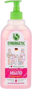 Мыло жидкое Аромамагия биоразлагаемое, с дозатором, 500мл Synergetic