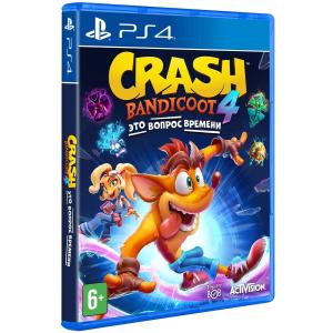 Игра на PS4 Crash Bandicoot 4: Это Вопрос Времени [PS4, русские субтитры]