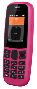 Сотовый телефон Nokia 105 (TA-1203) Pink
