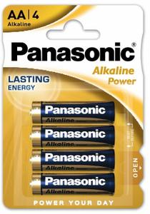 Panasonic LR6 Alkaline  Power BL*4 батарейка (4х12=48)