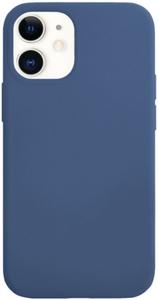 Чехол защитный «vlp» Silicone Сase для iPhone 12 mini, темно-синий