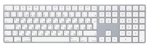 Клавиатура беспроводная Apple Magic Keyboard MQ052RS/A серебристый