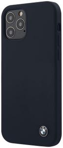 Чехол накладка BMW для Apple iPhone 12/12 Pro синий