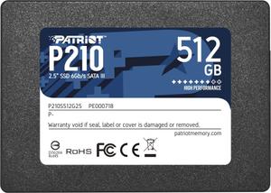 Накопитель SSD Patriot Memory P210 [P210S512G25] 512 ГБ