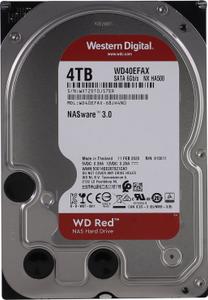 Жесткий диск Western Digital Red [WD40EFAX] 4 Тб