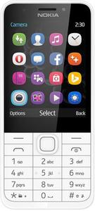 Сотовый телефон Nokia 230 DS белый