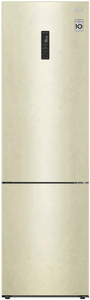 Холодильник LG GA-B509CEUM бежевый