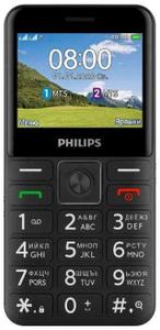 Сотовый телефон Philips Xenium E207 черный