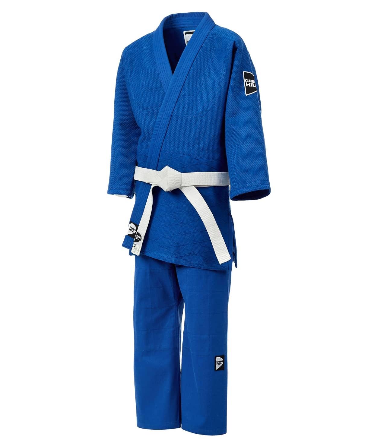Кимоно для дзюдо JSTT-10761, синий, р.2/150