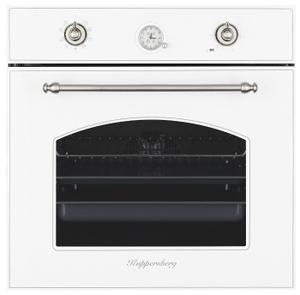 Духовой шкаф Kuppersberg SR 609 W SILVER белый