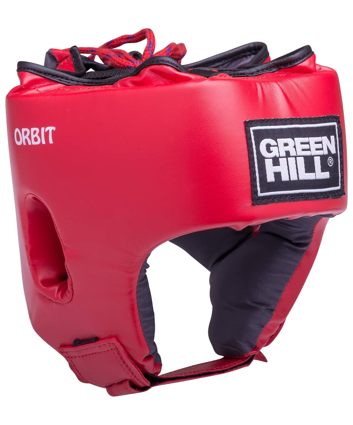 Шлем открытый детский Orbit, HGO-4030, кожзам, красный