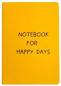 Блокнот-перевертыш Notebook for happy days, 32 листа