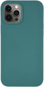 Чехол защитный «vlp» Silicone Сase для iPhone 12 ProMax, темно-зеленый