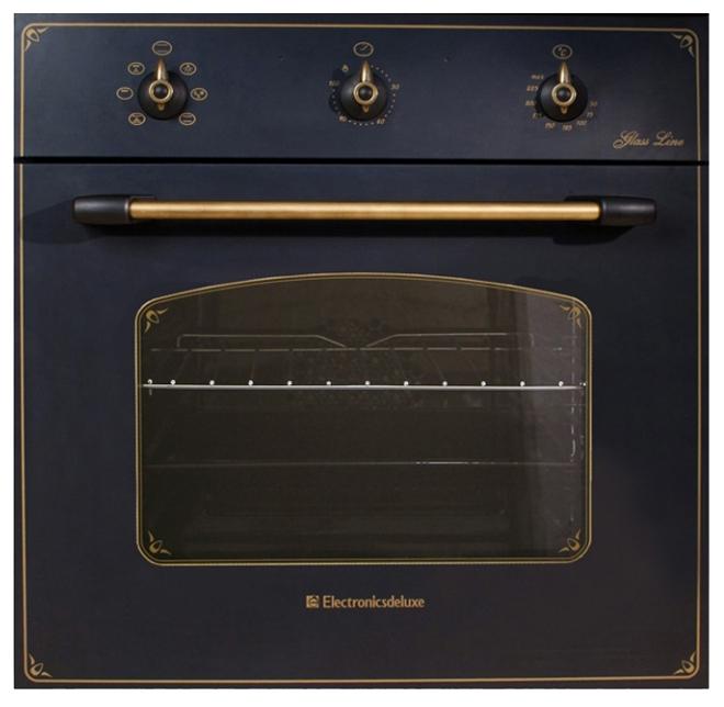 Духовой шкаф Electronicsdeluxe 6006.03эшв-009 черный