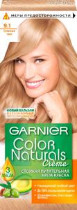 Краска для волос Color Naturals 9.1 Солнечный пляж Garnier