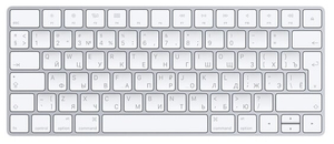 Клавиатура беспроводная Apple Magic Keyboard MLA22RU/A белый