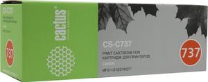 Картридж Cactus CS-C737
