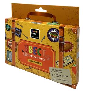 """Набор игровой Десятое королевство """"Квест в чемоданчике. Кухни мира"""", картон, европодвес"""