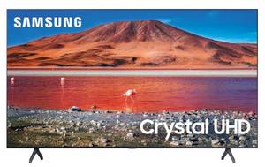 """Телевизор Samsung UE70TU7090UXRU 70""""(178см) черный"""