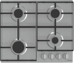 Газовая варочная панель Gorenje G640EX серебристый
