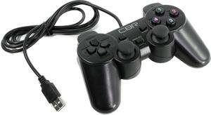 Игровой манипулятор CBR CBG 910 для PC, проводной, 2 вибро мотора, USB, CBG 910