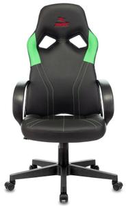 Кресло игровое Бюрократ Zombie RUNNER зеленый