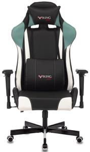 Кресло игровое Бюрократ Zombie VIKING TANK черный/серый/белый