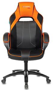 Кресло игровое Бюрократ Zombie VIKING 2 AERO оранжевый